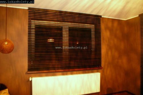 Galeria zaluzje drewniane 50mm 083