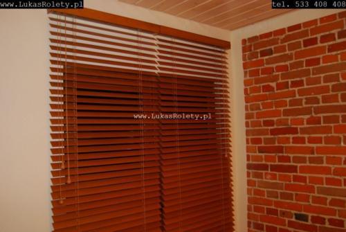Galeria zaluzje drewniane 50mm 085