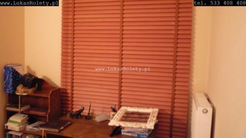 Galeria zaluzje drewniane 50mm 090