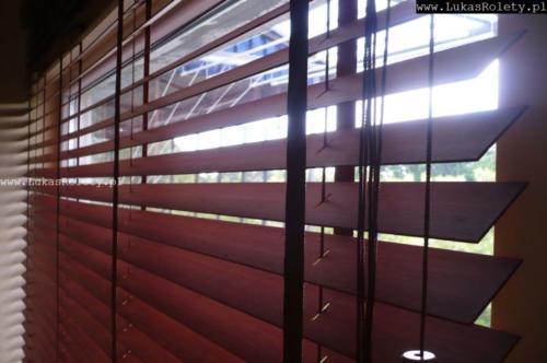 Galeria zaluzje drewniane 50mm 091