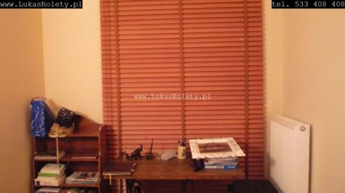 Galeria zaluzje drewniane 50mm 096