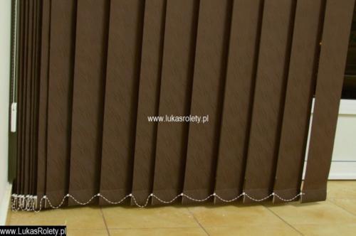 Galeria zaluzje pionowe verticale 046