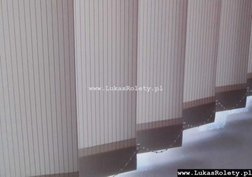 Galeria zaluzje pionowe verticale 096