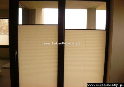 Galeria zaluzje plisowane plisy ab41 011