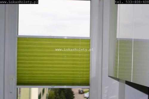 Galeria zaluzje plisowane plisy ab41 022