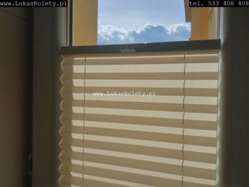 Galeria zaluzje plisowane plisy ab41 030