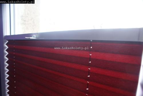 Galeria zaluzje plisowane plisy ab41 084