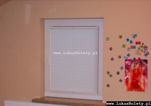 Galeria zaluzje plisowane plisy ab41 090
