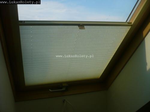 Galeria zaluzje plisy na okna dachowe db41 02