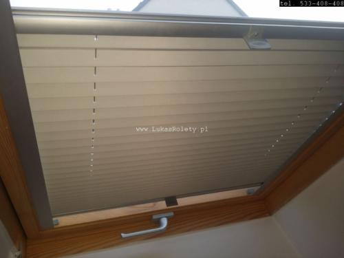 Galeria zaluzje plisy na okna dachowe db41 04