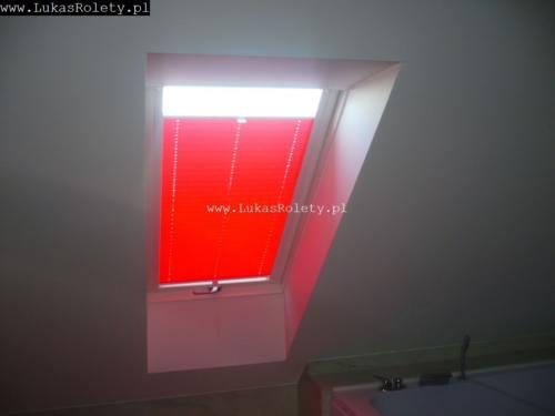 Galeria zaluzje plisy na okna dachowe db41 08