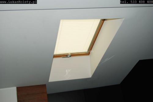 Galeria zaluzje plisy na okna dachowe db41 11