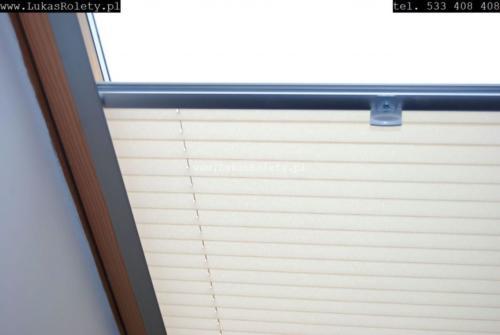Galeria zaluzje plisy na okna dachowe db41 12