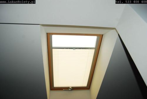 Galeria zaluzje plisy na okna dachowe db41 13