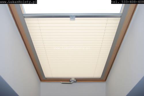 Galeria zaluzje plisy na okna dachowe db41 17