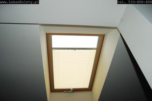 Galeria zaluzje plisy na okna dachowe db41 18