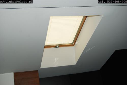 Galeria zaluzje plisy na okna dachowe db41 19