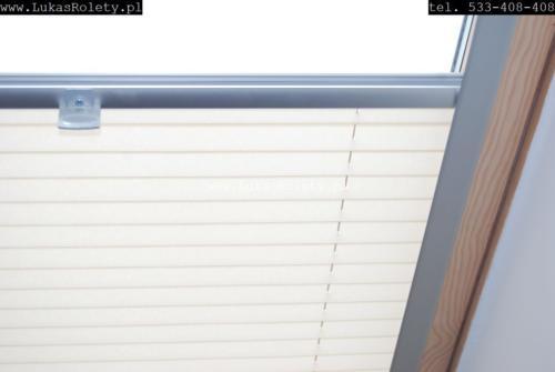 Galeria zaluzje plisy na okna dachowe db41 20