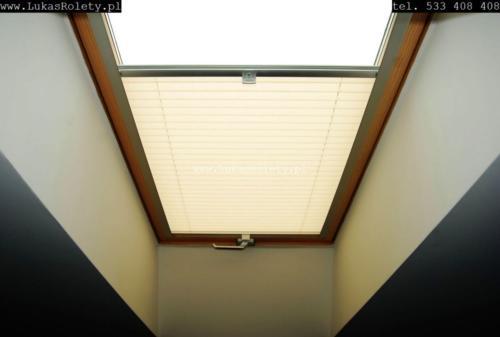 Galeria zaluzje plisy na okna dachowe db41 21