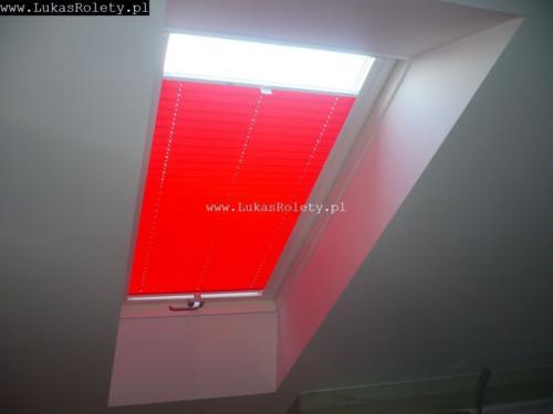 Galeria zaluzje plisy na okna dachowe db41 25