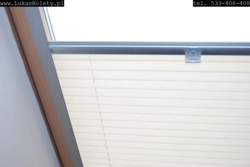 Galeria zaluzje plisy na okna dachowe db41 27