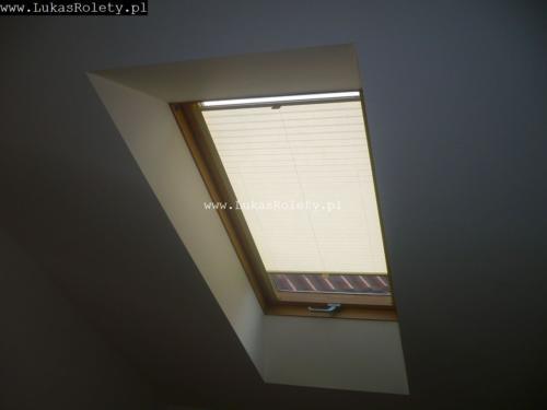 Galeria zaluzje plisy na okna dachowe db41 29