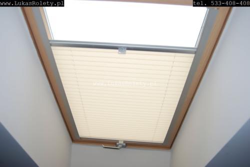 Galeria zaluzje plisy na okna dachowe db41 34