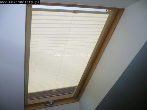 Galeria zaluzje plisy na okna dachowe db41 36