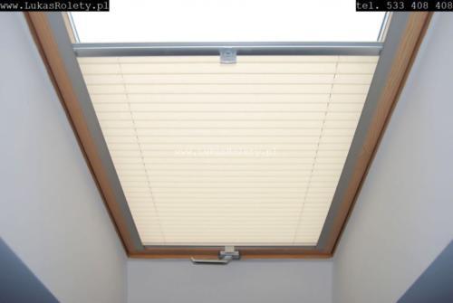Galeria zaluzje plisy na okna dachowe db41 38