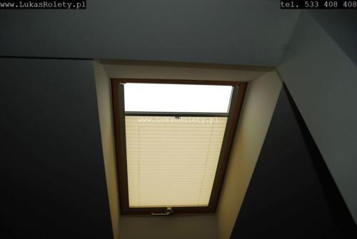 Galeria zaluzje plisy na okna dachowe db41 39