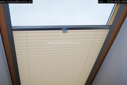 Galeria zaluzje plisy na okna dachowe db41 44