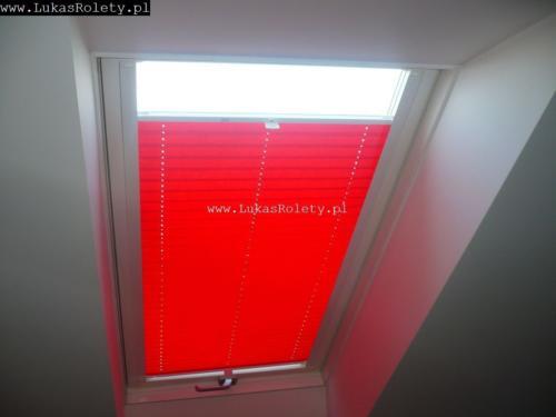 Galeria zaluzje plisy na okna dachowe db41 48