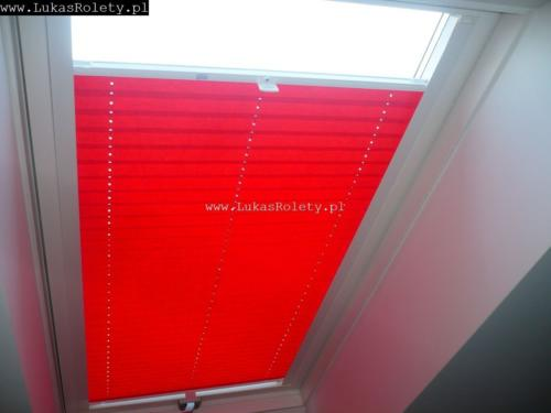 Galeria zaluzje plisy na okna dachowe db41 49