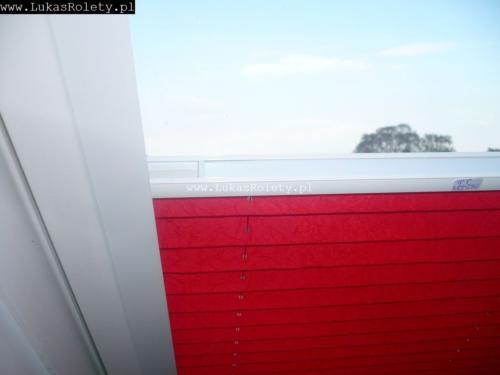 Galeria zaluzje plisy na okna dachowe db41 50
