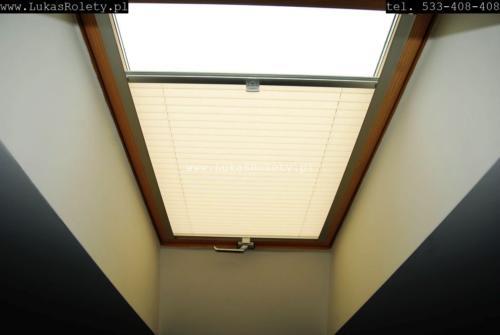 Galeria zaluzje plisy na okna dachowe db41 51