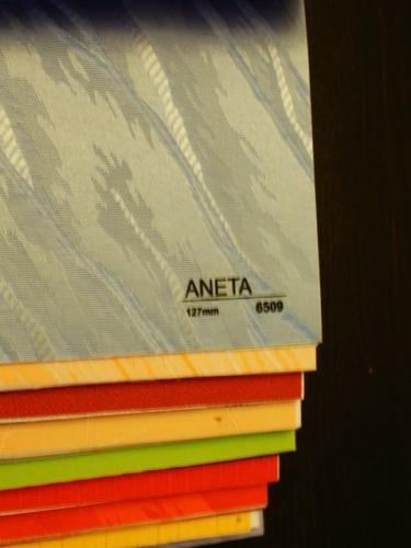 Wzorniki – Żaluzje pionowe – verticale – aneta 02