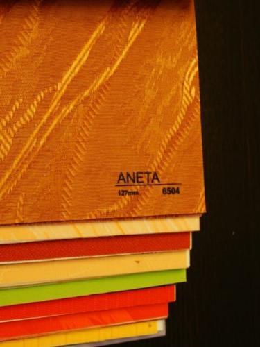 Wzorniki – Żaluzje pionowe – verticale – aneta 03