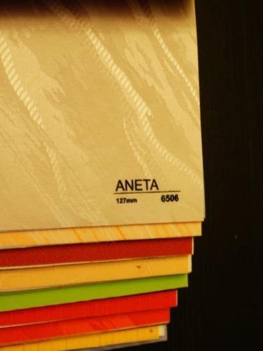 Wzorniki – Żaluzje pionowe – verticale – aneta 09