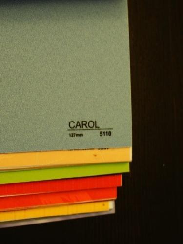Wzorniki – Żaluzje pionowe – verticale – carol07
