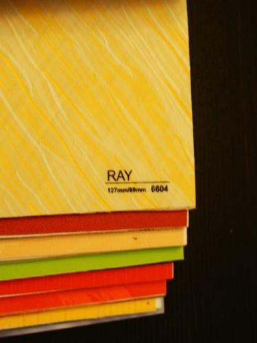 Wzorniki – Żaluzje pionowe – verticale – ray 01