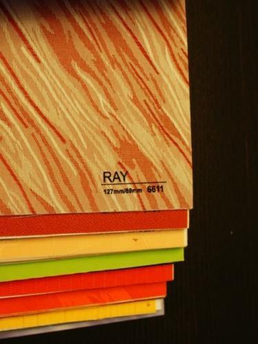 Wzorniki – Żaluzje pionowe – verticale – ray 03