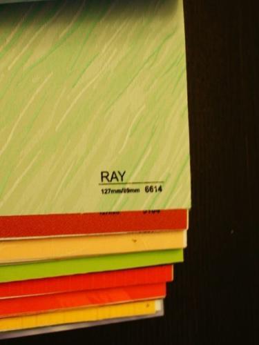 Wzorniki – Żaluzje pionowe – verticale – ray 04