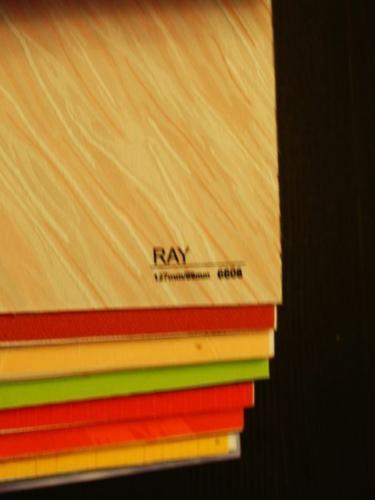 Wzorniki – Żaluzje pionowe – verticale – ray 06