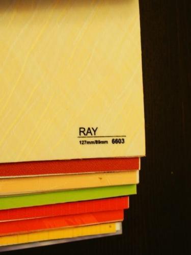 Wzorniki – Żaluzje pionowe – verticale – ray 07