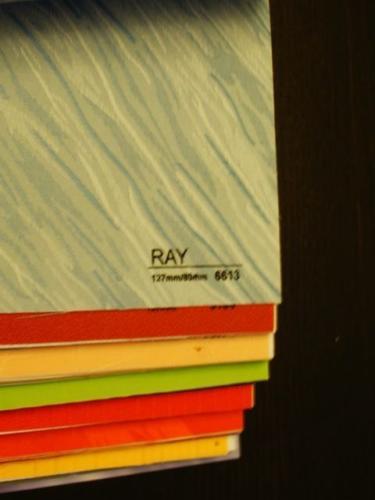 Wzorniki – Żaluzje pionowe – verticale – ray 09