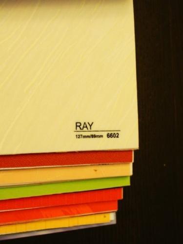 Wzorniki – Żaluzje pionowe – verticale – ray 14