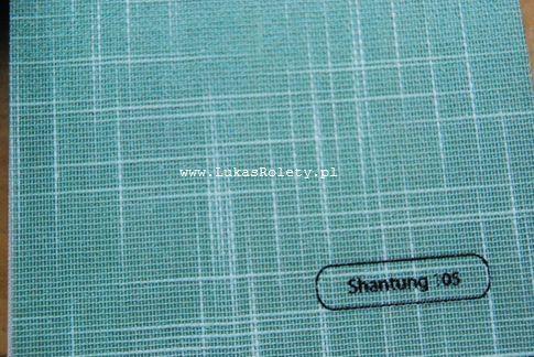 Wzorniki – Żaluzje pionowe – verticale - shantung 17