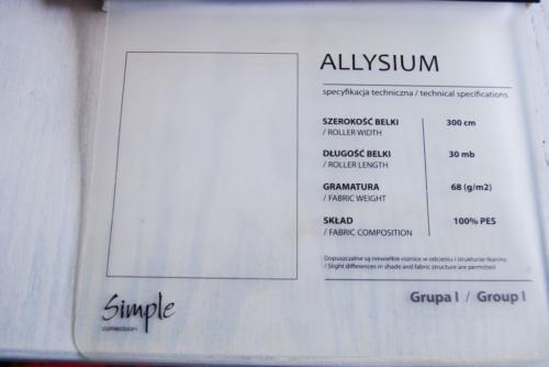 Wzorniki – Rolety rzymskie – allysium 6