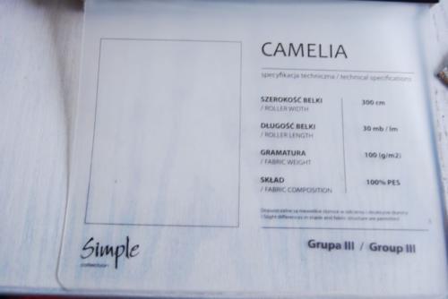 Wzorniki – Rolety rzymskie – camelia 5
