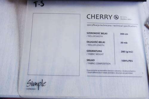 Wzorniki – Rolety rzymskie – cherry 11